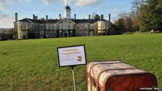 Community chest in Polesdenopoly at Polesden Lacey