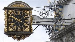 Guildford town clock