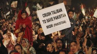 Protest in Karachi, 19 Dec