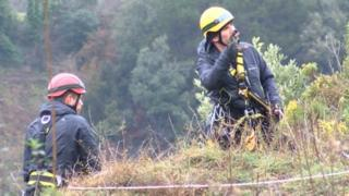 Avon Gorge being searched