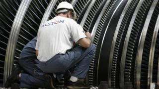 Alstom workers