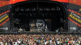 The crowd at the Reading and Leeds Festival