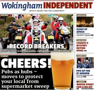 Wokingham Independent example page