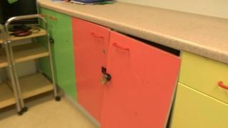 Toy cupboard