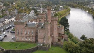 Inverness Castle tower
