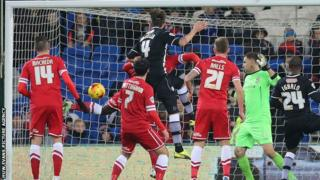 Gabriele Angella's header capped a fine comeback win for Watford at Cardiff