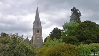 The Spire - formerly St Peter's - in Ufton Nervet