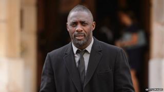 Actor Idris Elba.