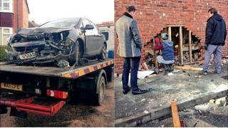 Stockport car crash
