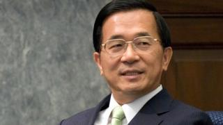 Chen Shui-bian while in office