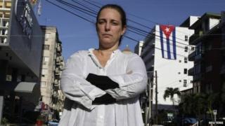 Cuban artist Tania Bruguera, 31 Dec 2014