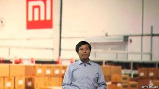 Xiaomi chief executive Lei Jun speaks during a product launch