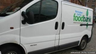 Birmingham Central Foodbank Van