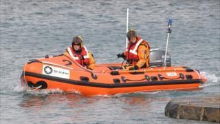 Guernsey St John Ambulance inshore rescue boat