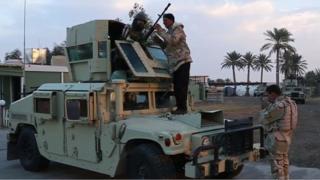 Iraqi troops at Ain Al-Asad air base (Dec 2014)