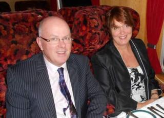 Joe Bohen and his wife Jane