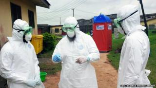 Drugs, vaccines and blood products are being tried against the Ebola virus