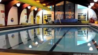 Ashbourne leisure centre pool
