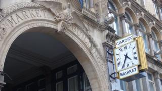 Marchnad Ganolog Caerdydd