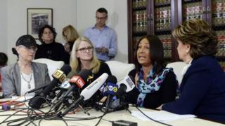 Cosby accusers Lynn Neal, Linda Kirkpatrick and Kacey