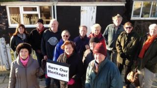 Mudeford campaigners
