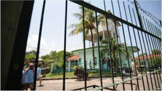 Kerobokan jail in Bali