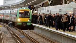 New platform at London Bridge