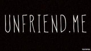 Unfriend Me graphic