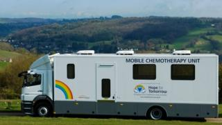 Chemotherapy bus