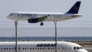 Cyprus Airways plane