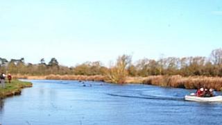 River Thames annual river swim