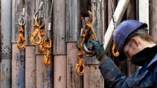 Fracking drills
