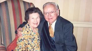 Una Crown and husband Jack