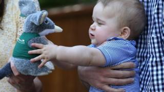 Prince George at Taronga Zoo in Sydney