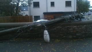 Power line down
