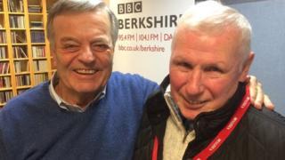 Tony Blackburn and Richard Swainson
