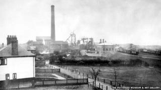 Sneyd Colliery in 1925