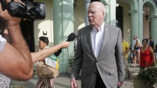 Senator Patrick Leahy in Havana