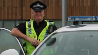 Special constable Mark Spedding