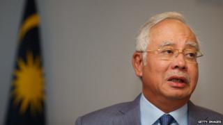 Malaysian Prime Minister Najib
