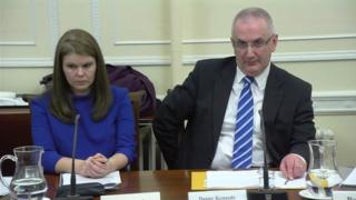 Regional Development Minister Danny Kennedy and NI Water chief executive Sara Venning were called to give evidence at an emergency meeting at Stormont