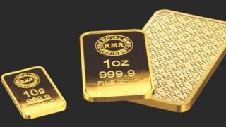 RMR gold bars