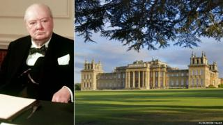 Winston Churchill/Blenheim Palace