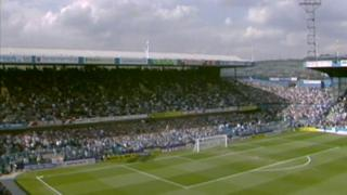 Leppings Lane end at Hillsborough