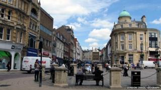 The Drapery, Northampton