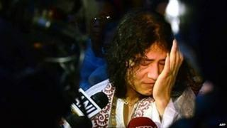 Irom Sharmila after hospital release in August 2014
