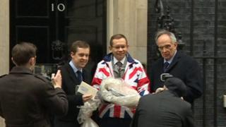 Local EU Referendum results at Downing Street