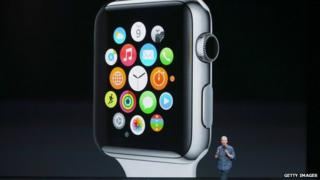 Apple chief executive Tim Cook launches the Apple Watch