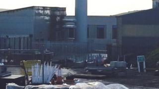West Cumberland Hospital fire damage