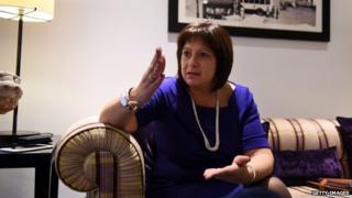 Ukraine's finance minister, Natalie Jaresko